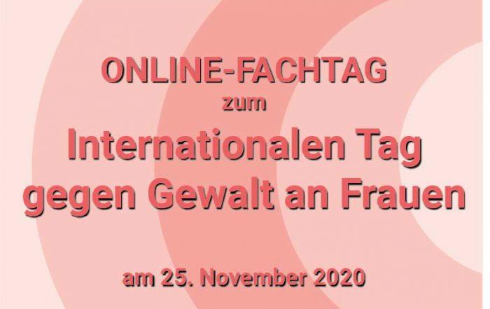 Online-Fachtag zu Gewalt gegen Frauen
