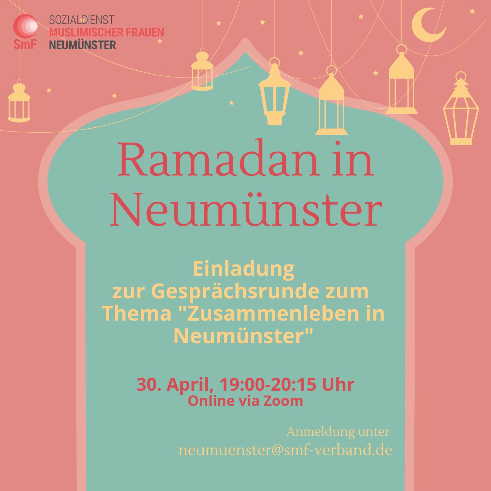 Ramadan in Neumünster – Podiumsdiskussion über das Zusammenleben in Neumünster